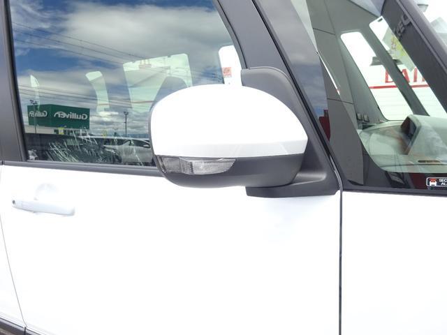 カスタムXスタイルセレクション 4WD 届出済未使用車 ナビ装着用アップグレードパック スマアシ 両側パワースライドドア LEDヘッドライト シートヒーター 純正マット・純正バイザー・スタッドレス・アルミホイール付き(31枚目)