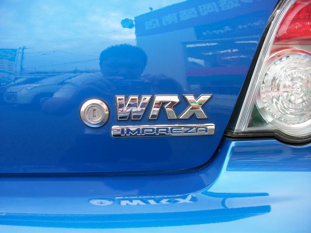 スバル インプレッサ WRX HID 社外マフラー ETC 純正17AW
