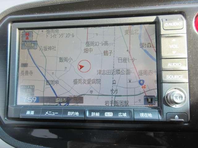 XL インターナビセレクト 純正HDDナビ 社外品アルミ H(10枚目)