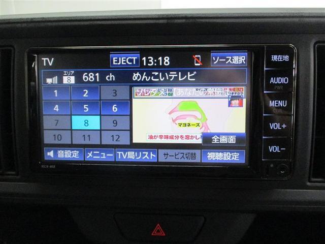 ワンセ対応でTV視聴ができます。