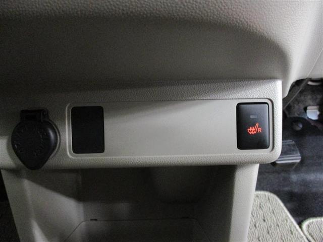 運転席シートには寒い時に快適なヒーター付です。