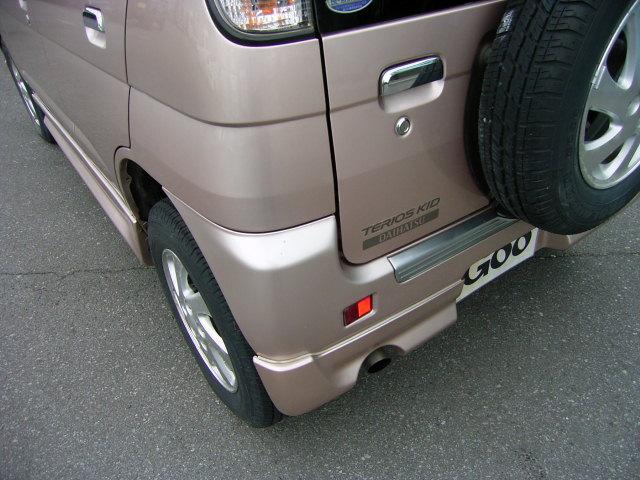 ダイハツ テリオスキッド エアロダウンカスタムX 4WD マニュアル