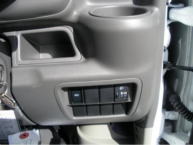 PA ハイルーフ 5速MT 4WD 夏冬タイヤあり(13枚目)