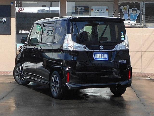 スズキ ソリオバンディット ハイブリッドMV4WD デュアルカメラブレーキ 両側電動