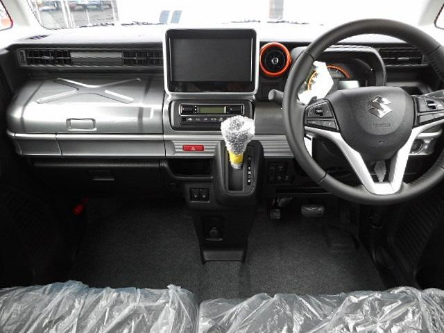 ハイブリッドXZ ターボ 4WD 届出済未使用車 両側電動(3枚目)