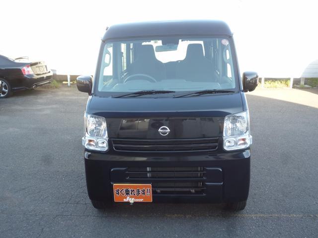 日産 NV100クリッパーバン DX エマージェンシーブレーキパッケージ ナビ 4WD