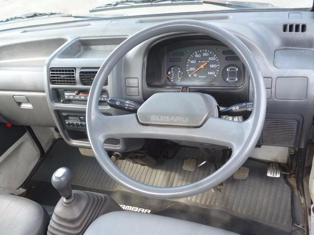 スバル サンバートラック 4WD 5速マニュアル