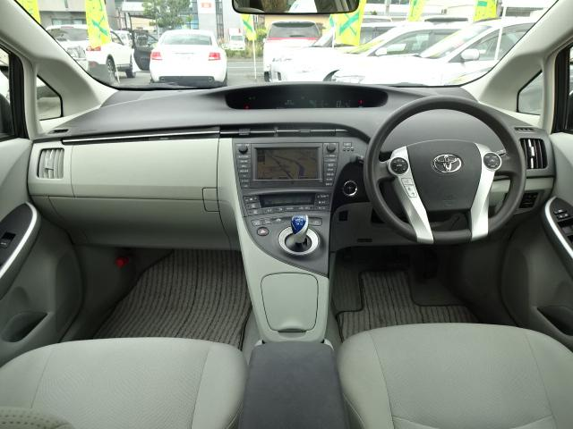 トヨタ プリウス S ハイブリッド 純正HDDナビ 地デジTV バックモニター