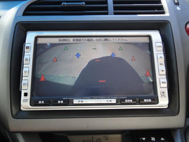 ホンダ ストリーム X 4WD 純正HDDナビ