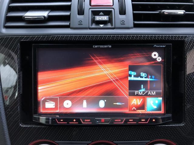STI タイプS 4WD STI リップ 社外オーディオ(15枚目)