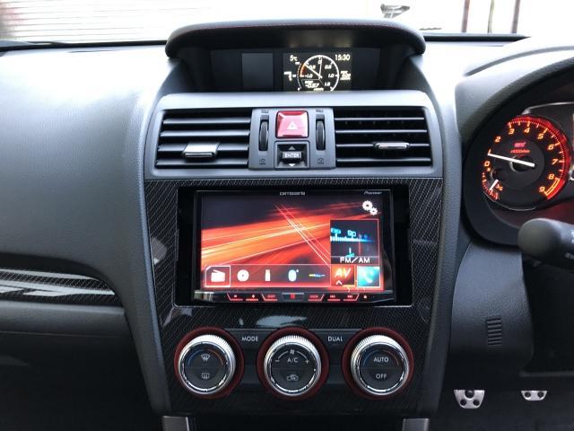 STI タイプS 4WD STI リップ 社外オーディオ(16枚目)