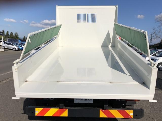 強化ダンプ Lゲート自動コボレーン 新明和 積載3400kg(7枚目)