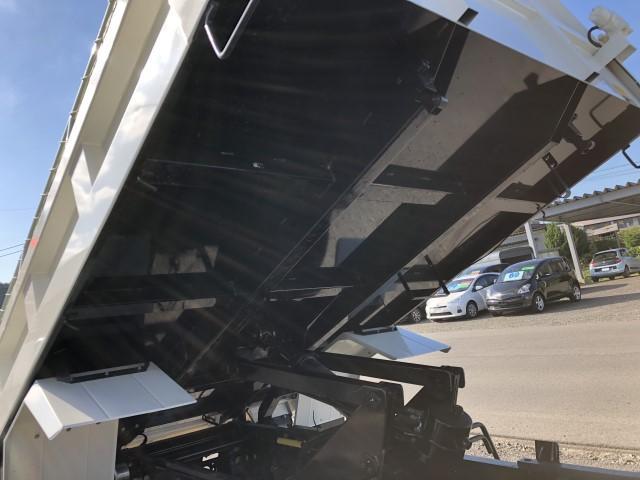 強化ダンプ Lゲート自動コボレーン 新明和 積載3400kg(8枚目)