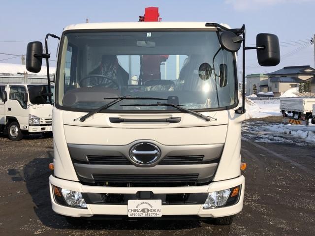 平ボディ 4段クレーン ラジコン 積載量2500kg(2枚目)