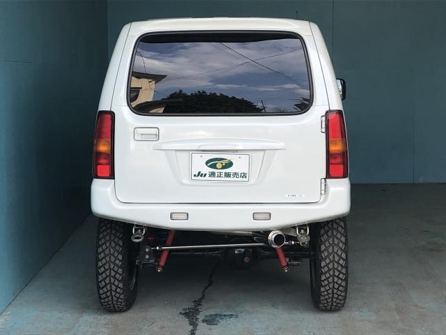 ランドベンチャー 4WD 新品タイヤ 社外インタークーラー(4枚目)