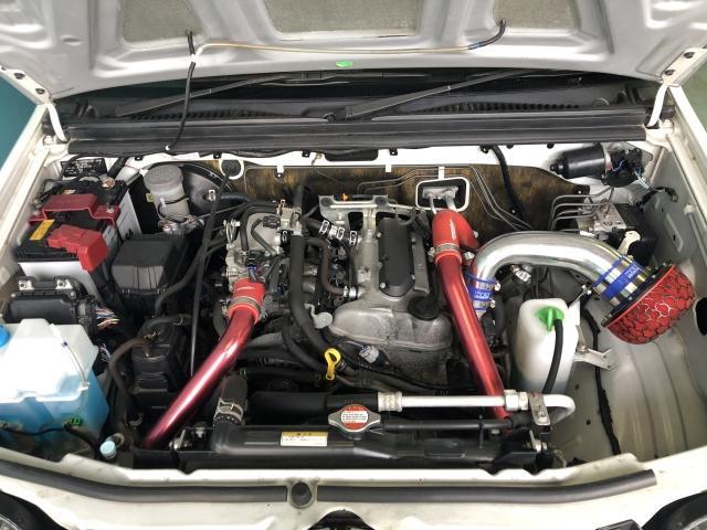 ランドベンチャー 4WD 新品タイヤ 社外インタークーラー(5枚目)