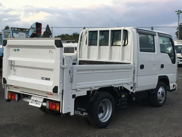 Wキャブ 極東垂直パワーゲート 積載1900kg 4WD(3枚目)