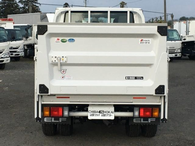 Wキャブ 極東垂直パワーゲート 積載1900kg 4WD(4枚目)