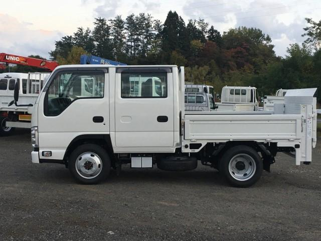 Wキャブ 極東垂直パワーゲート 積載1900kg 4WD(5枚目)