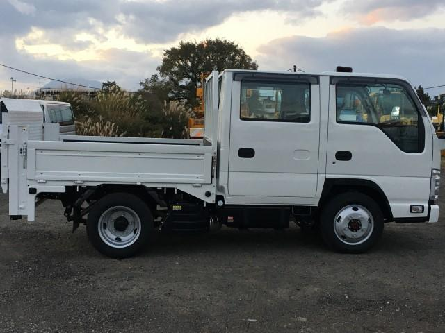 Wキャブ 極東垂直パワーゲート 積載1900kg 4WD(6枚目)
