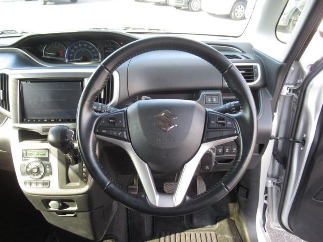ハイブリッドMZ 4WD/デュアルカメラブレーキサポート/純正ナビ(フルセグTV/DVD/B-T)/両側パワースライドドア /ETC/クルコン/HIDヘッドライト/横滑り防止装置/スマートキー/オートエアコン(11枚目)