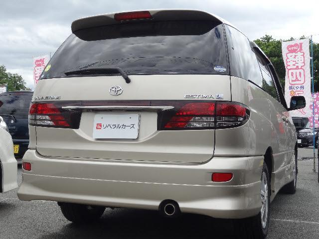 トヨタ エスティマL 4WD アエラス Gエディション 純正DVDナビ CDMD