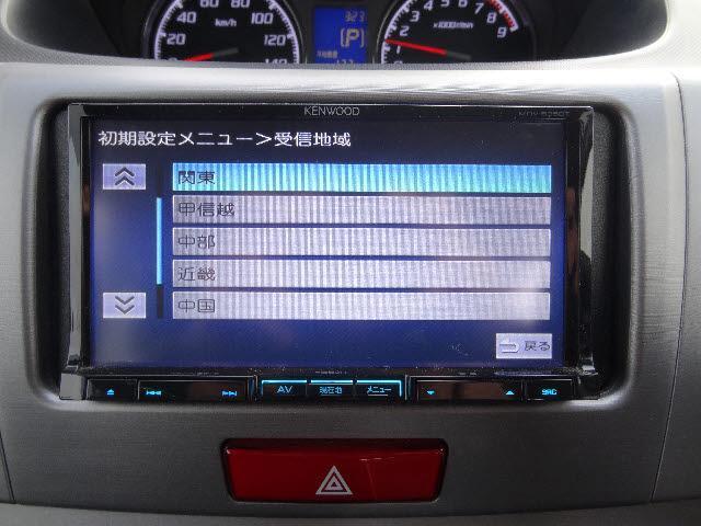 スバル ステラ 4WD カスタムR ケンウッド製フルセグSDナビ 1オーナー