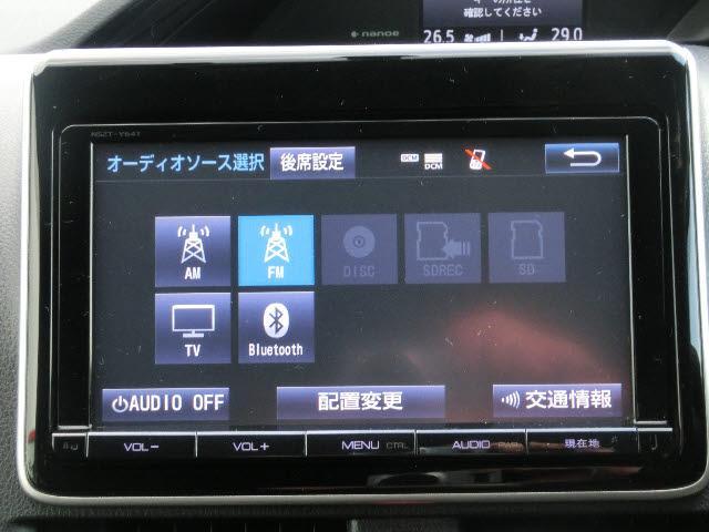 トヨタ エスクァイア Gi 4WD 9インチフルセグSDナビ 寒冷地仕様