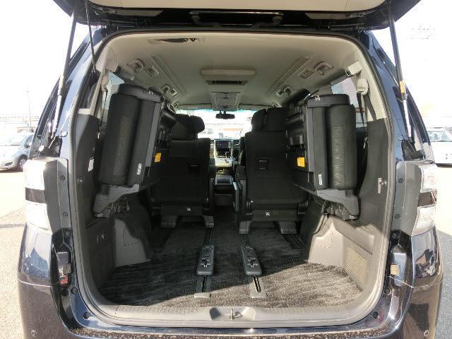 トヨタ ヴェルファイア 4WD 2.4Z G-ED 純正フルセグHDDナビTV