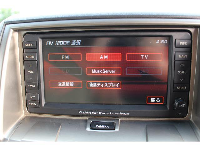 4WD GナビPKG 純正HDDナビ 左側オートSD(4枚目)