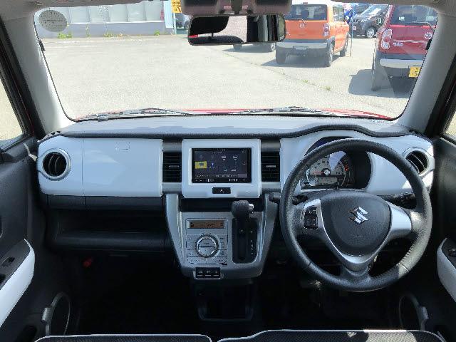 Xターボ 4WD デュアルカメラブレーキサポート 横滑り防止 カロッツェリア製フルセグSDナビ CD/DVD再生 Bluetooth接続 HIDオートライト シートヒーター アイドリングストップ スマートキー(3枚目)