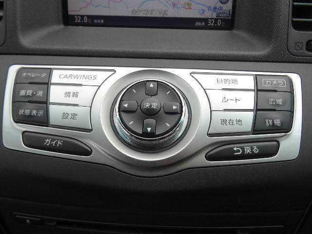 日産 ムラーノ 250XL FOUR 純正HDDナビ 18AW