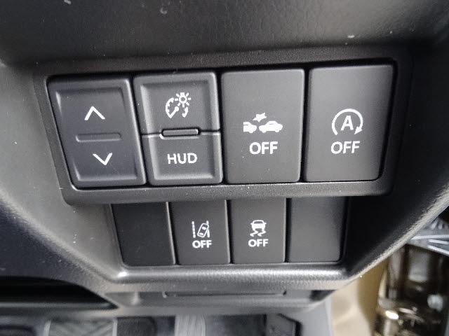 スズキ ワゴンRスティングレー ハイブリッドX 4WD カロッツェリアSDナビ HUD付