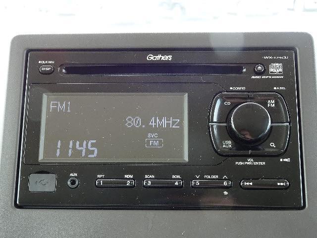G 4WD 純正エンジンスターター/スマートキー/LEDライト イモビライザー純正CD/VSA ビルトインETC(4枚目)