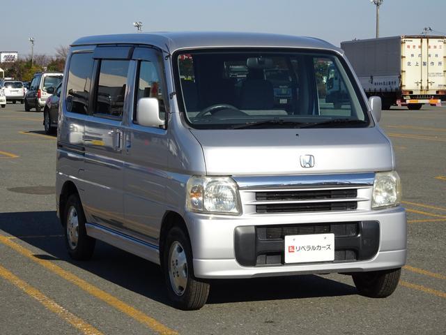 ホンダ バモス L 4WD キーレスエントリー 純正CD
