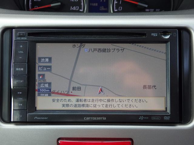 ダイハツ ムーヴ カスタム G 4WD メモリーナビ ワンセグTV DVD再生