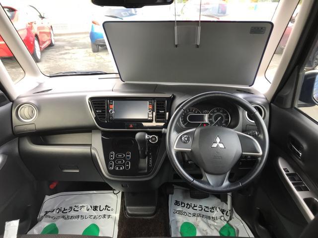三菱 eKスペースカスタム カスタムG TV ナビ エアロ 軽自動車 4WD 保証付