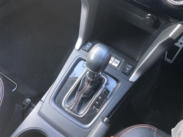 X-ブレイク 4WD アイサイト メモリーナビ フルセグTV(24枚目)