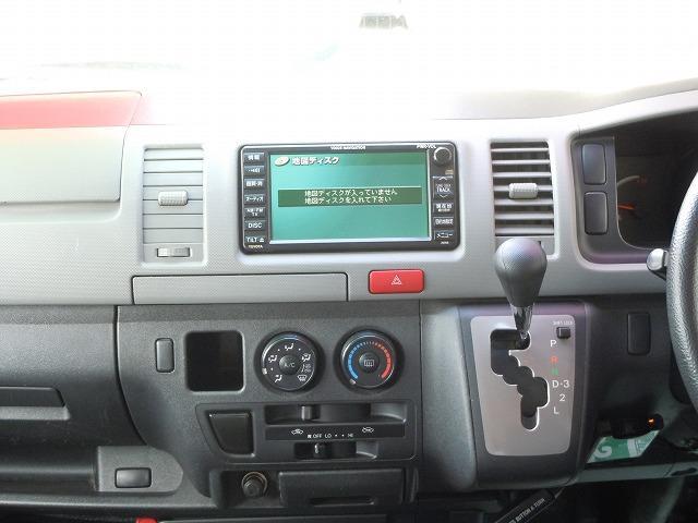 トヨタ ハイエースバン ロングDX 4WD 5ドア ルーフキャリア付