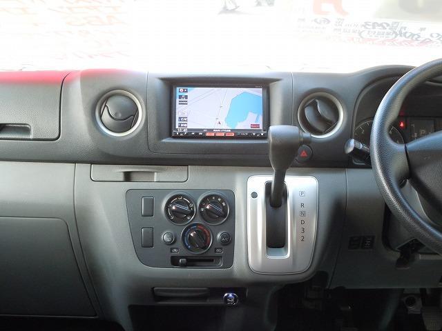 日産 NV350キャラバンバン ロングDXターボ 4WD ナビ 地デジTV