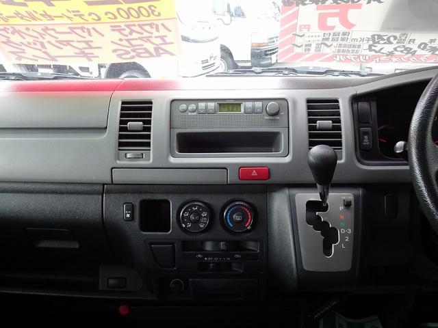 トヨタ ハイエースバン ロングDX 4WD Wエアコン リアヒーター