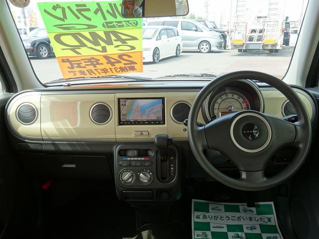スズキ アルトラパン G 4WD 純正ナビ ワンセグTV プッシュスタート