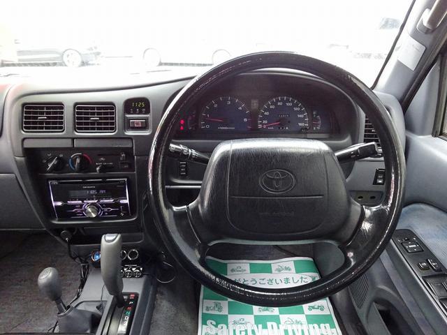 ダブルキャブ 4WD リフトアップ オーバーフェンダー(10枚目)