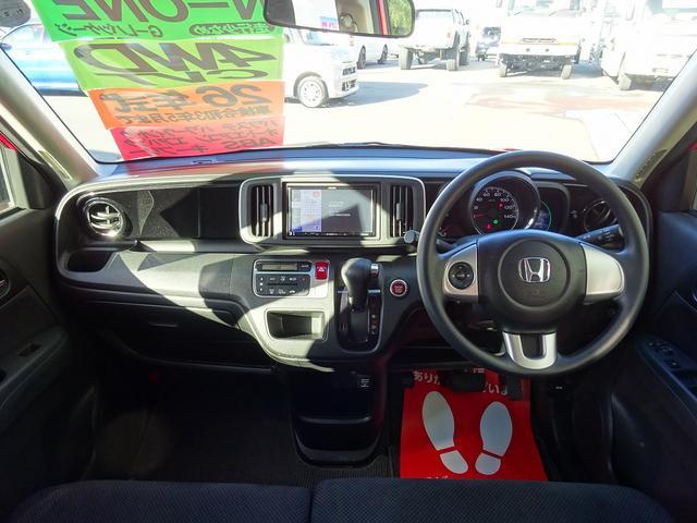 G・Lパッケージ 4WD メモリーナビ フルセグTV DVD バックカメラ HIDライト 社外14インチアルミ オートエアコン キーフリー(7枚目)