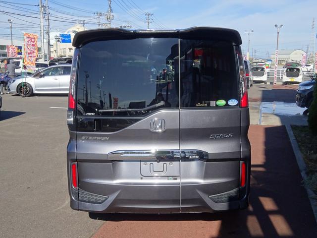 スパーダ 4WD 純正9インチナビ Bluetooth バックカメラ ETC 左側パワースライドドア 純正16インチアルミ LEDヘッドライト ターボ(5枚目)