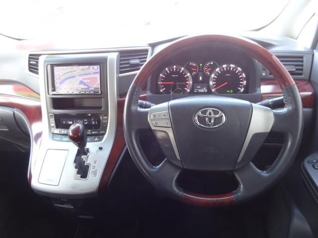2.4Z 4WD 左側パワースライドドア フリップダウンモニター コーナーセンサー HDDナビ バックカメラ ETC 純正18インチアルミ キーフリー ABS(9枚目)
