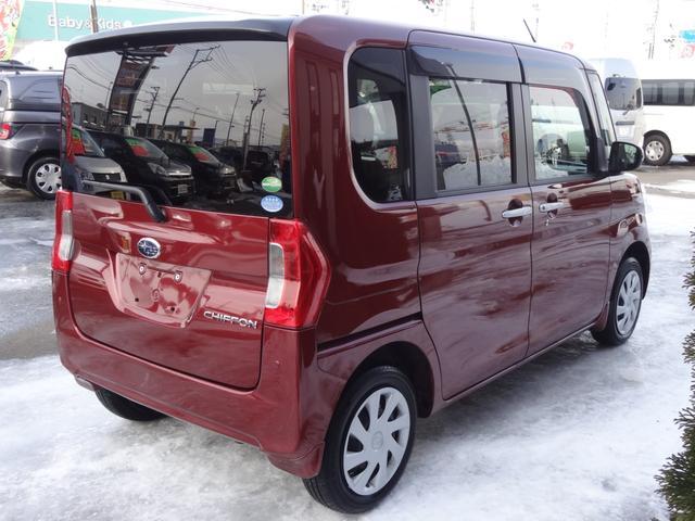 「スバル」「シフォン」「コンパクトカー」「青森県」の中古車7