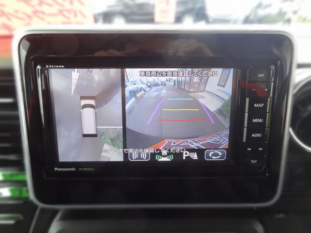 ハイブリッドXS 4WD 衝突被害軽減装置 全方位モニター用カメラパッケージ 両側パワースライドドア メモリーナビ Bluetooth TV 純正15インチアルミ ETC キーフリー(13枚目)
