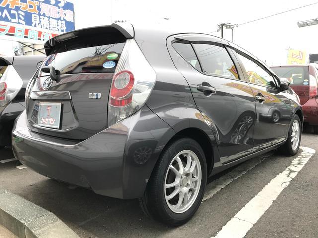 「トヨタ」「アクア」「コンパクトカー」「青森県」の中古車5