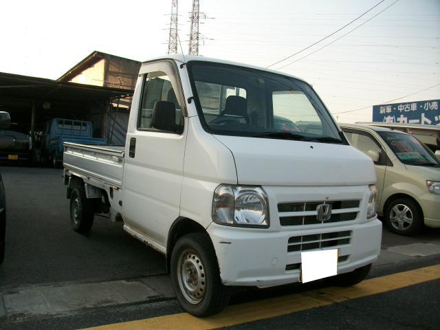 ホンダ アクティトラック 4WD 5速 パワステ付き